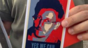 Snowden alone in calling out Empire as naked