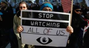 """""""Time to reform surveillance state"""": Stop Watching Us rally challenges NSA spying"""