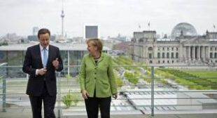 Britain allegedly spied on Merkel a mere stone'€™s throw from her desk