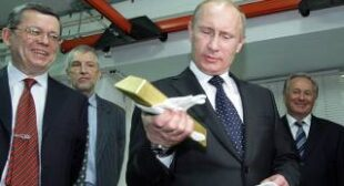 Russia follows the yellow brick road, increases gold reserves