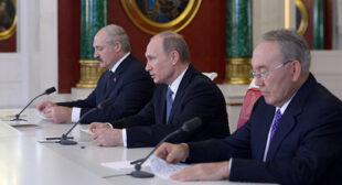 Russia, Belarus, Kazakhstan sign '€˜epoch' Eurasian Economic Union