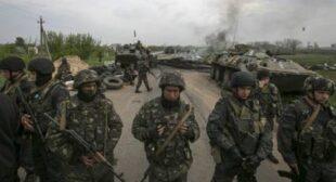14 military killed in chopper downed in E. Ukraine – acting president