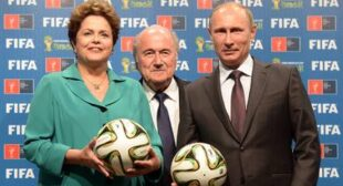 Brazil hands over World Cup to Russia at Rio's Maracana Stadium