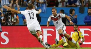 Germany wins World Cup after 1-0 victory over Argentina