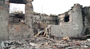 """I wouldn't wish it on my worst enemy"": The Ukraine village-battlefield left in ruins"