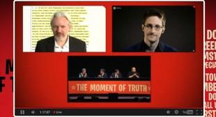 'We share the same prosecutor': Snowden, Assange & Dotcom team up