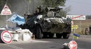 Heavy fighting outside Mariupol despite launch of Ukrainian peace talks