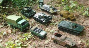 """""""Most convincing evidence"""": Russian embassy trolls NATO with toy tanks"""