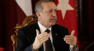 "Foreigners ""like seeing our children die"", can't help with Mid-East, says Erdogan"