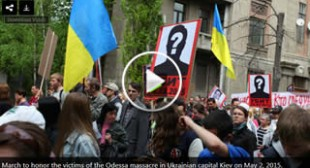 From Ukraine to Australia: Thousands worldwide pay tribute to Odessa massacre victims