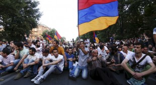 Pro-West NGOs, Armenian unrest and the destabilization of Russia