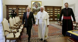 """Why Putin's meeting with the Pope ruffled the West"""