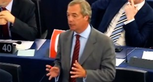 """Leave Euro, retake democracy!"" Nigel Farage in passionate Tsipras address (VIDEO)"