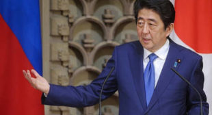 Abe promises to visit Russia without delay for further progress in peace treaty talks