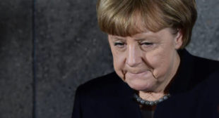 Merkel Voices Concern Over Situation on Contact Line in Donbass