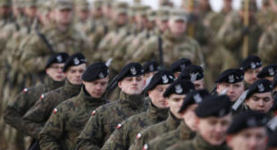 'NATO exercises on Russia border part of US buildup of empire '