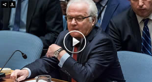 Russian ambassador to UN Vitaly Churkin dies day before turning 65