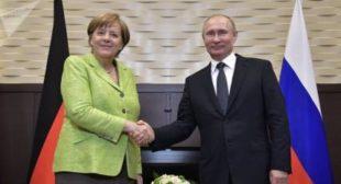 'Putin-Merkel Meeting Sends a Strong Signal to the World'