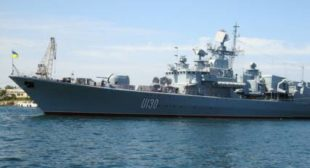 Ukraine's Only Major Warship Out of Commission, Funds for Repairs Feared Stolen