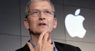 'Hate is a Cancer': Apple Boss Cook Slams Trump's Charlottesville Approach
