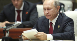 Putin Calls Out US Folly