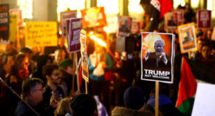 'No Trump!' Hundreds march in Switzerland against US leader's Davos visit (PHOTO)