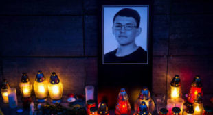 Killing of Slovak investigative journalist raises concerns over press freedom in EU