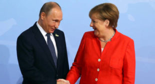 Putin Explains How to Stay Cool, What Merkel Sends Him and What He Can't Forgive