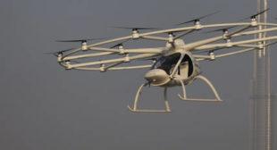 'That'd Make Sense': Porsche Eyes Flying Taxi