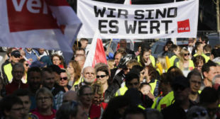 Massive Nationwide Strikes Plunge German Cities Into Chaos