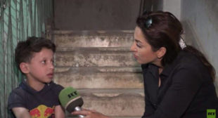RT visits hospital seen in Douma 'chemical attack' video, talks to boy from footage (VIDEO)