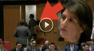 U.S. Ambassador Nikki Haley Arrogantly Leaves UN Security Council Meeting ►