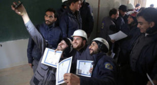 White Helmets Shared Buildings With Al-Nusra in Syria– Bolivian Filmmaker