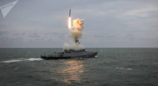 Putin: Russian Warships With Kalibr Rockets to Be on Guard in Mediterranean 24/7