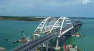 Europe's longest: Putin leads column of trucks at Crimean bridge opening ceremony (VIDEO)