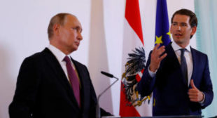 Superpower Russia key to settlement of Syria, Ukraine conflicts – Austria's Kurz to Putin