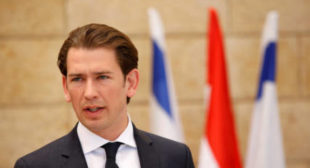 Austria's Kurz receives death threats after shutting down mosques