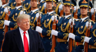 'We have far more bullets': Trump threatens China with more tariffs if Beijing dares to retaliate