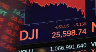 US Stocks Dive For Second Day In a Row