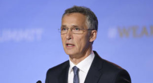 'We bombed you to save you' – NATO head Stoltenberg speaks about 1999 bombings on visit to Serbia