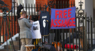 Ecuador restores Assange's communications after 7-month blackout – WikiLeaks