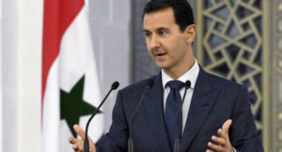 WATCH Syrians Carry Assad on Their Shoulders, Thanking Him for Liberation
