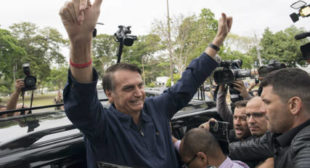 Bolsonaro Says Brazil Will Move Embassy to Jerusalem