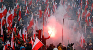'Europe will be white': Polish leaders sanction massive far-right march in Warsaw (VIDEO)