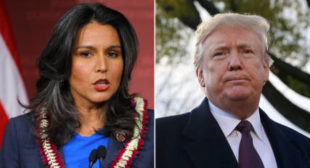 Stop being 'Saudi Arabia's b*tch,' Tulsi Gabbard tells Trump, critics pounce