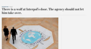 A Russian not becoming head of Interpol is bigger news than the person who did