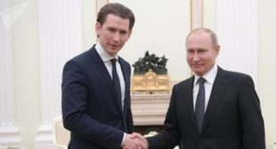 Austrian Gov't Proclaims Easing EU-Russian Tensions Its Top Goal for 2019