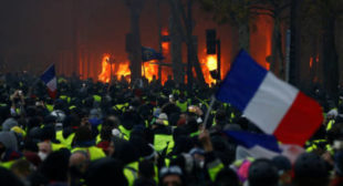 Revolution in Ukraine? Yes, please! Revolution in France? Rule of law!