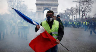 Macron's European army has arrived. It goes by the name Gilets Jaunes