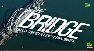 The Bridge Russia's grand project to link Crimea